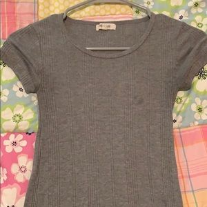 Gray shirt from Madewell
